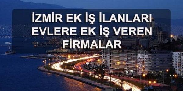 İzmir'de Evde Paketleme İşi